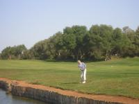1.Mai tornament: nice approache at hole 15